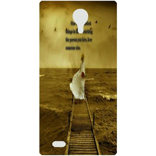 Amagav Back Case Cover for Lava A89 233LavaA89