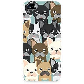 CopyCatz Dog Family Cluster Premium Printed Case For Apple iPhone 4/4s