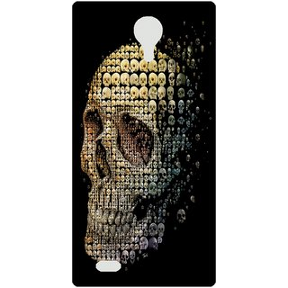 Amagav Back Case Cover for Lava A89 580LavaA89
