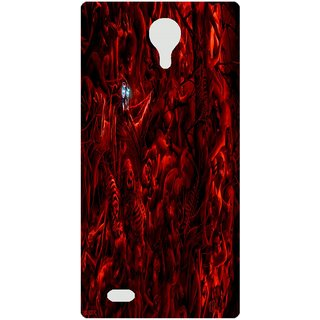 Amagav Back Case Cover for Lava A71 23LavaA71