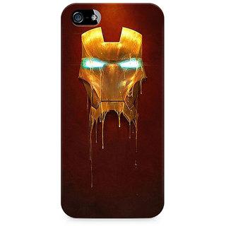 CopyCatz Melting Iron Man Premium Printed Case For Apple iPhone 4/4s