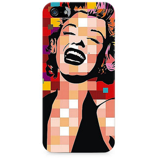 CopyCatz Retro Monroe Premium Printed Case For Apple iPhone 4/4s