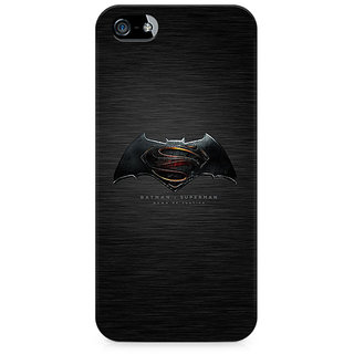 CopyCatz Batman vs Superman Logo Premium Printed Case For Apple iPhone 4/4s