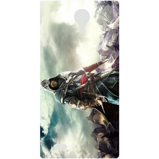 Amagav Back Case Cover for Lava A71 541LavaA71