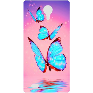 Amagav Back Case Cover for Lava A71 666LavaA71