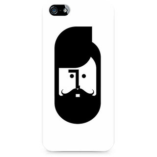 CopyCatz The Perfect Moustache Premium Printed Case For Apple iPhone 4/4s
