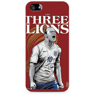 CopyCatz The Three Lions Premium Printed Case For Apple iPhone 4/4s