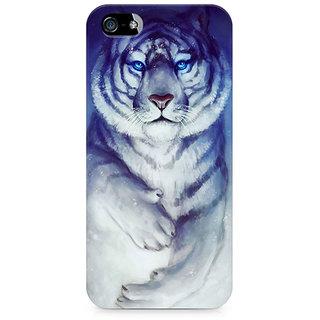 CopyCatz White Tiger Premium Printed Case For Apple iPhone 4/4s