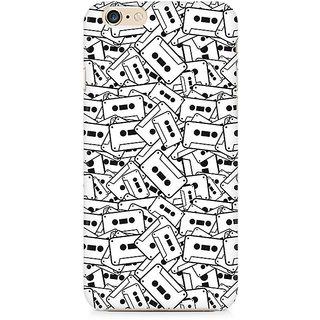 CopyCatz Casette Cluster Premium Printed Case For Apple iPhone 6 Plus/6s Plus