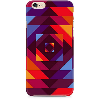 CopyCatz Concentric Squares Premium Printed Case For Apple iPhone 6 Plus/6s Plus