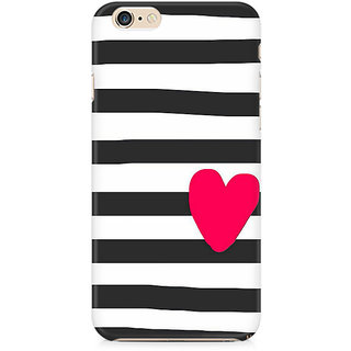 CopyCatz Cute Heart On Zebra Print Premium Printed Case For Apple iPhone 6 Plus/6s Plus