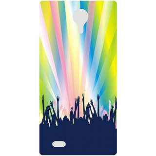 Amagav Back Case Cover for Lava A72 342LavaA72