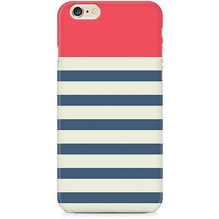 CopyCatz Stripes Pink Premium Printed Case For Apple iPhone 6 Plus/6s Plus