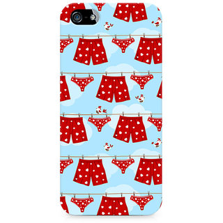 CopyCatz Boxers and Panties Premium Printed Case For Apple iPhone 4/4s