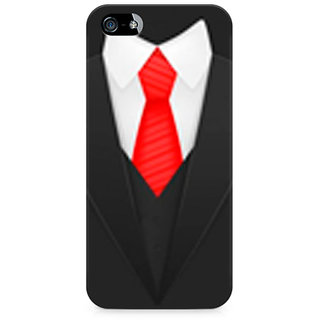 CopyCatz Elegant Suit Premium Printed Case For Apple iPhone 4/4s
