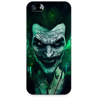 CopyCatz Joker Green Premium Printed Case For Apple iPhone 4/4s