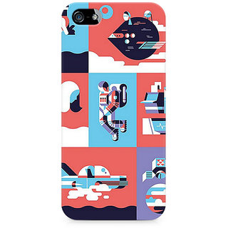 CopyCatz Abstract Travel Premium Printed Case For Apple iPhone 5/5s