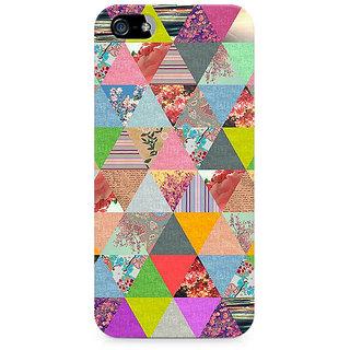 CopyCatz Colorful Triangles Premium Printed Case For Apple iPhone 5/5s