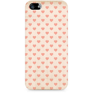 CopyCatz Vintage Heart Premium Printed Case For Apple iPhone 4/4s