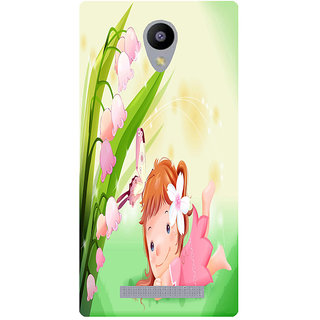 Amagav Printed Back Case Cover for Lyf Wind 3