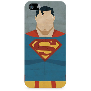 CopyCatz Superman Minimalist Premium Printed Case For Apple iPhone 5/5s