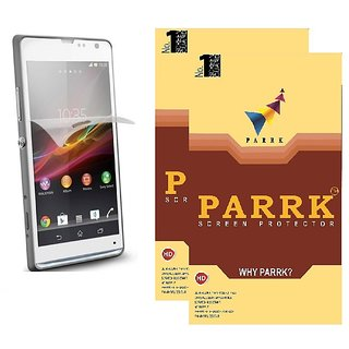 PARRK Diamond Screen Guard for Sony Xperia Z3 Front Pack of 2