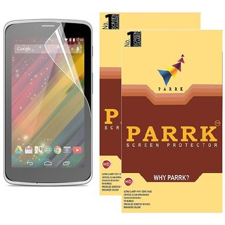 PARRK Diamond Screen Guard for Hp Slate 6 Voice Tab Pack of 2