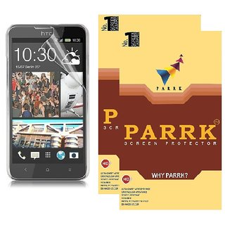 PARRK Diamond Screen Guard for HTC Desire 600c Pack of 2