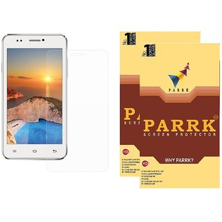 PARRK Diamond Screen Guard for Iball Andi 4.5z Pack of 2