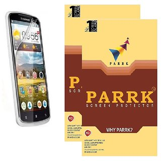 PARRK Diamond Screen Guard for Lenovo IdeaTab A3000 Pack of 2