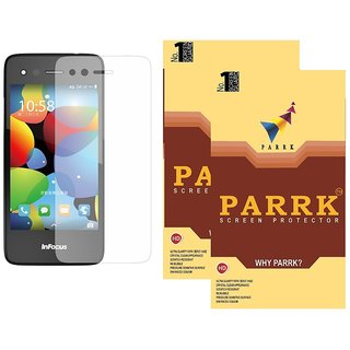 PARRK Diamond Screen Guard for Infocus M330 Pack of 2