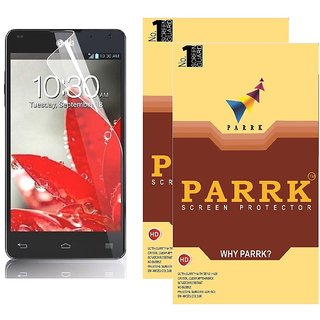 PARRK Diamond Screen Guard for LG G3 Beat Pack of 2