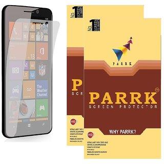 PARRK Diamond Screen Guard for Microsoft Lumia 550 Pack of 2