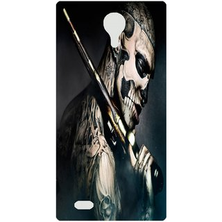 Amagav Back Case Cover for Micromax Canvas Fire 3 Q375 101-MmQ375