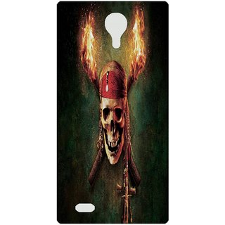 Amagav Back Case Cover for Micromax Canvas Fire 3 Q375 238-MmQ375