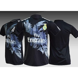 Black realmardri football Jersey