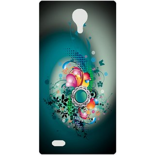 Amagav Back Case Cover for Micromax Canvas Fire 3 Q375 545-MmQ375