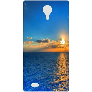 Amagav Back Case Cover for Micromax Canvas Fire 3 Q375 388-MmQ375