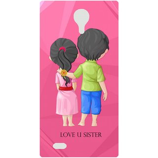 Amagav Back Case Cover for Micromax Canvas Fire 3 Q375 680-MmQ375
