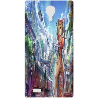 Amagav Back Case Cover for Lava X81 52--LavaX81