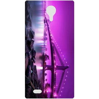 Amagav Back Case Cover for Lava X81 394--LavaX81