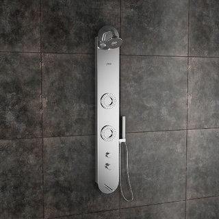 Orion Steel Matte Shower Panel