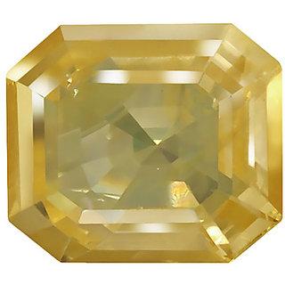 J F GEMSTONE 6.00 Ratti Certified Yellow Sapphire