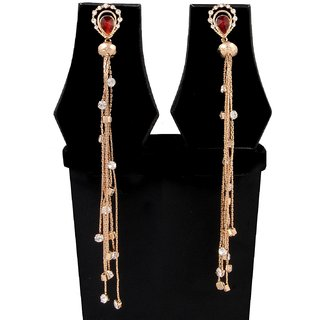 Trisha Jewels Gold Alloy Non Plated Studs For Girl&Women