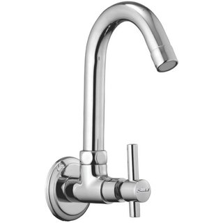 SSS - Sink Cock Sparkel Brass Chrome Plated
