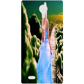 Amagav Back Case Cover for Lava A97