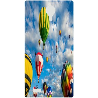 Amagav Back Case Cover for Micromax Canvas 5 E481