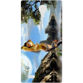 Amagav Back Case Cover for Micromax Canvas 5 E481