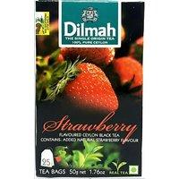 Dilmah Strawberry Ceylon Black Tea Bags 50 gm