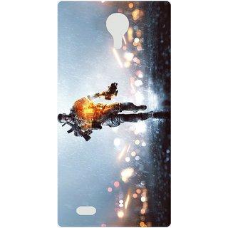 Amagav Back Case Cover for Lava X11